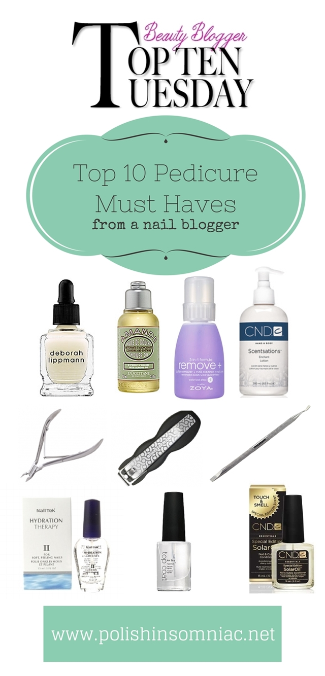 Top 10 Pedicure Must Haves