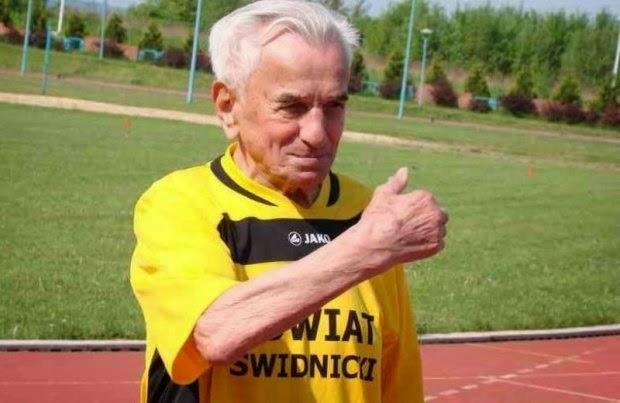 A 104 anni stabilisce un record dei 100 metri di corsa
