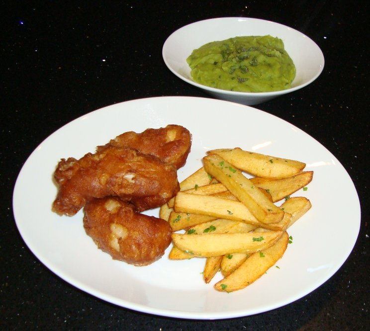 Tiny Kitchen Fish And Chips: Sarah's Kitchen: Fish And Chips