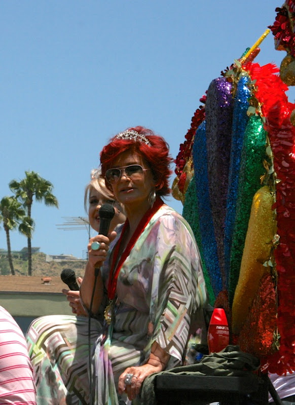 Sharon Osbourne West Hollywood Pride 2010