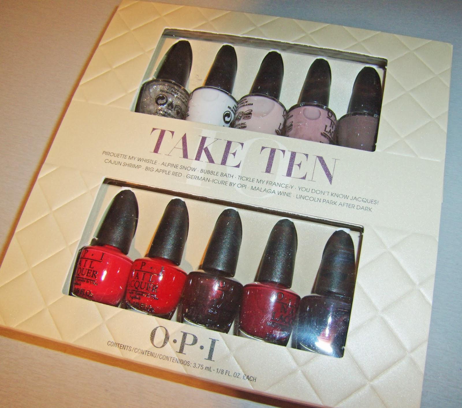 Mini Opi Nail Polish Gift Sets | Splendid Wedding Company