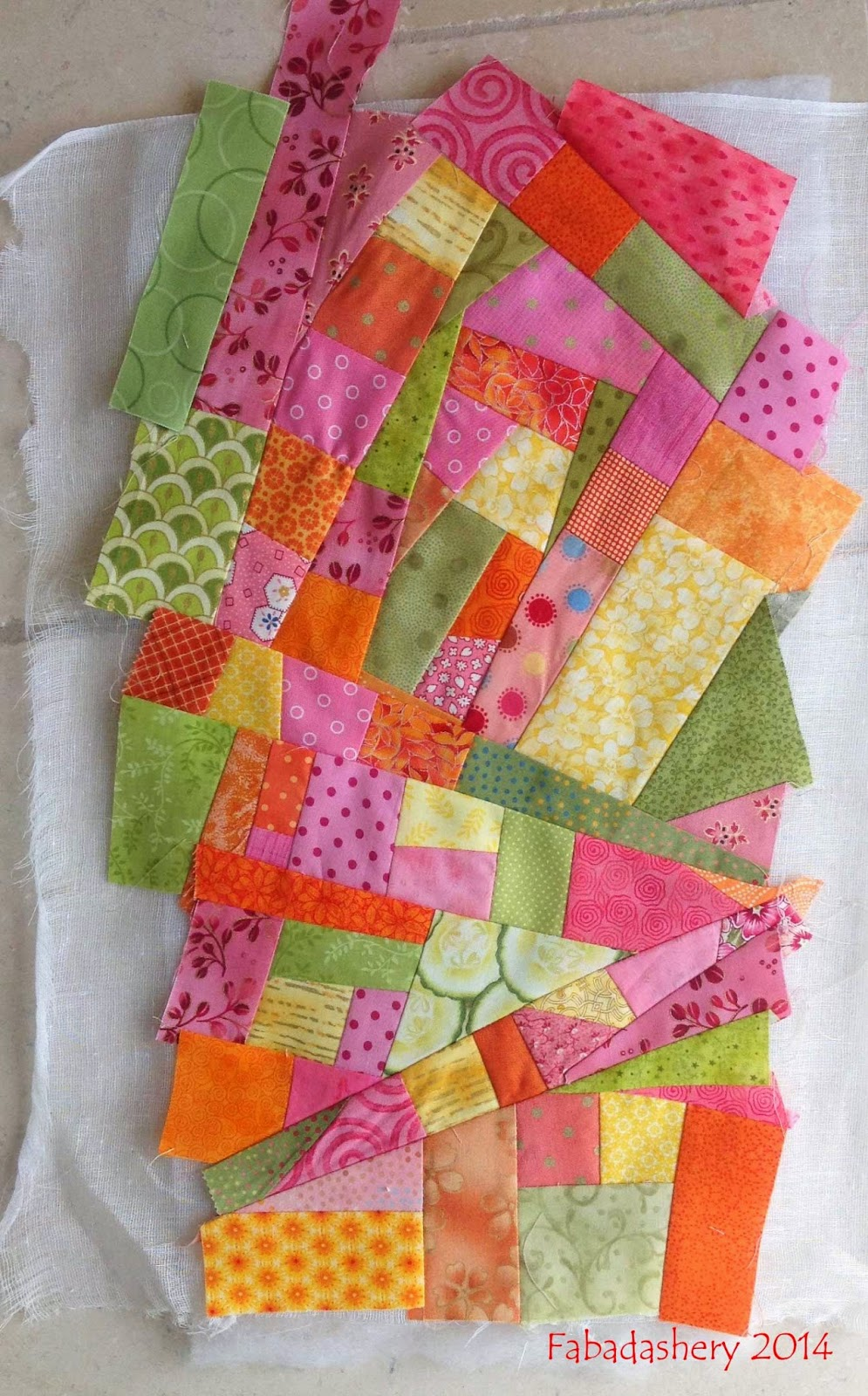 'made fabric' for quilt backing