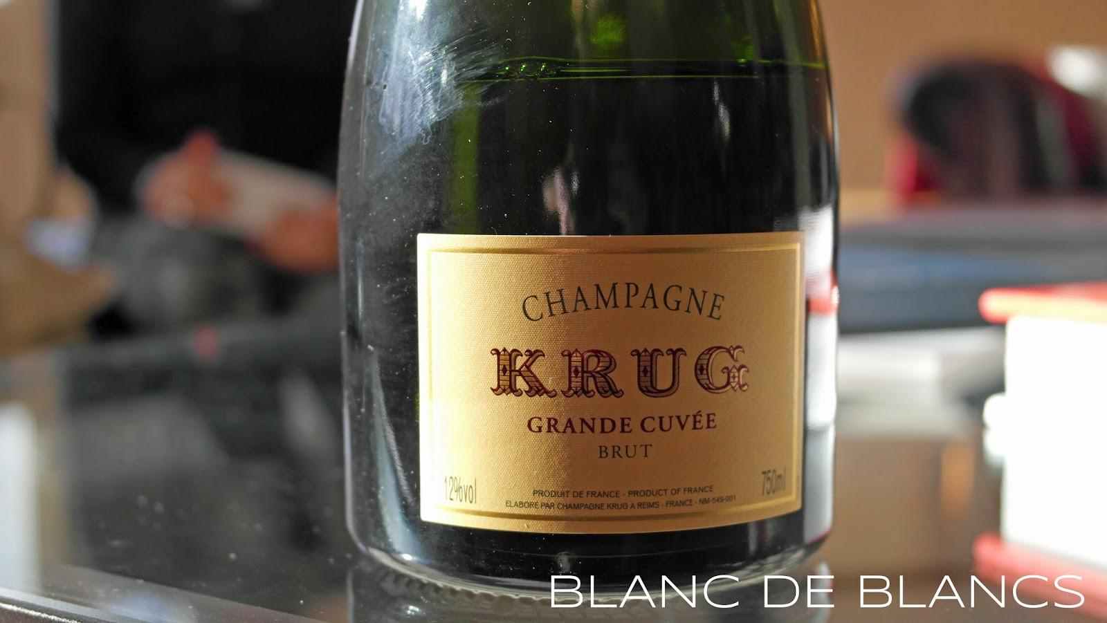 Krug Grande Cuvée - www.blancdeblancs.fi