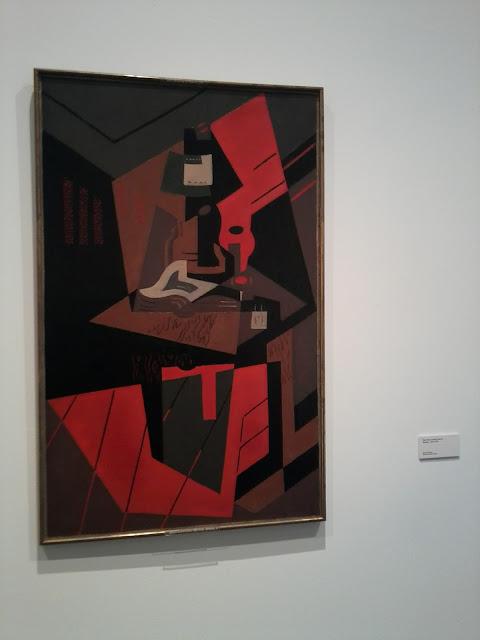 María Blanchard, Museo Reina Sofía, Cubismo, Naturaleza muerta con lámpara,