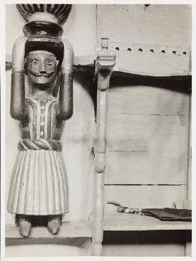 Berat - Samson in fustanella