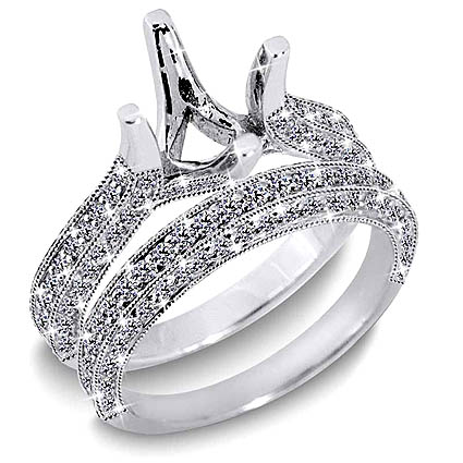 unique wedding ring sets unique wedding ring sets for women - Unique Wedding Ring Set