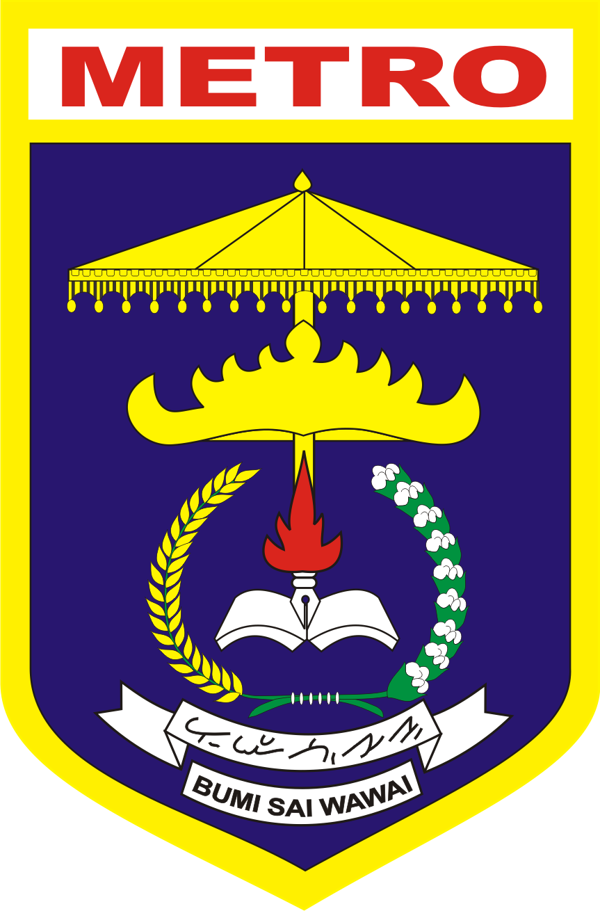 Logo Kota Metro Provinsi Lampung Logo Lambang Indonesia
