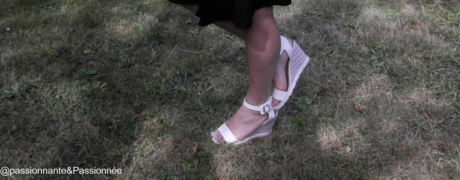 sandales éclipse