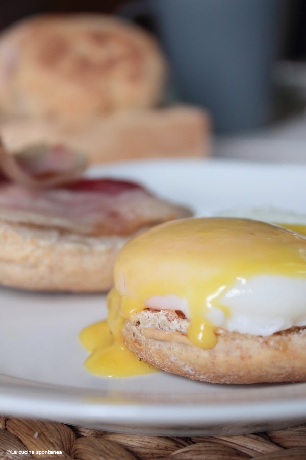 eggs benedict from london