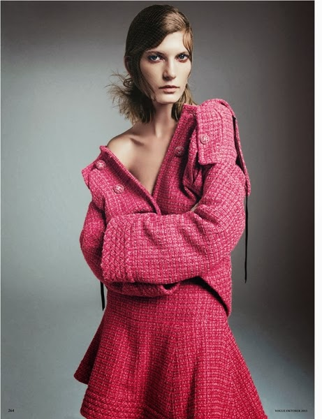 Chanel 2013 AW Pink Tweed Suit