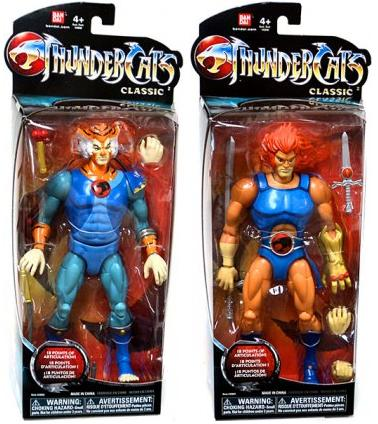 Classic Thundercats on Bandai Thundercats 8 Collector Action Figure Lion O Tygra Restock