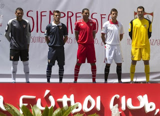Sevilla Fc Uniform 2012-2013