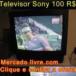 TELEVISOR SONY TRINITRON 100 REAIS