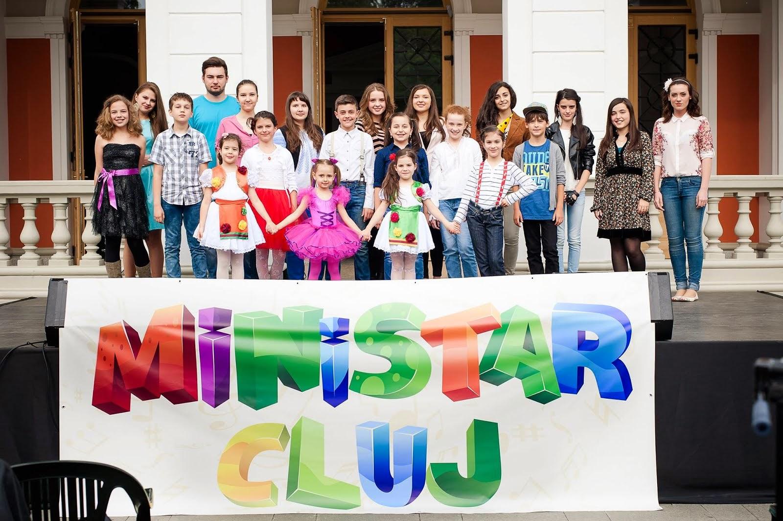 Ministar Cluj-Muzica usoara si populara pentru copii