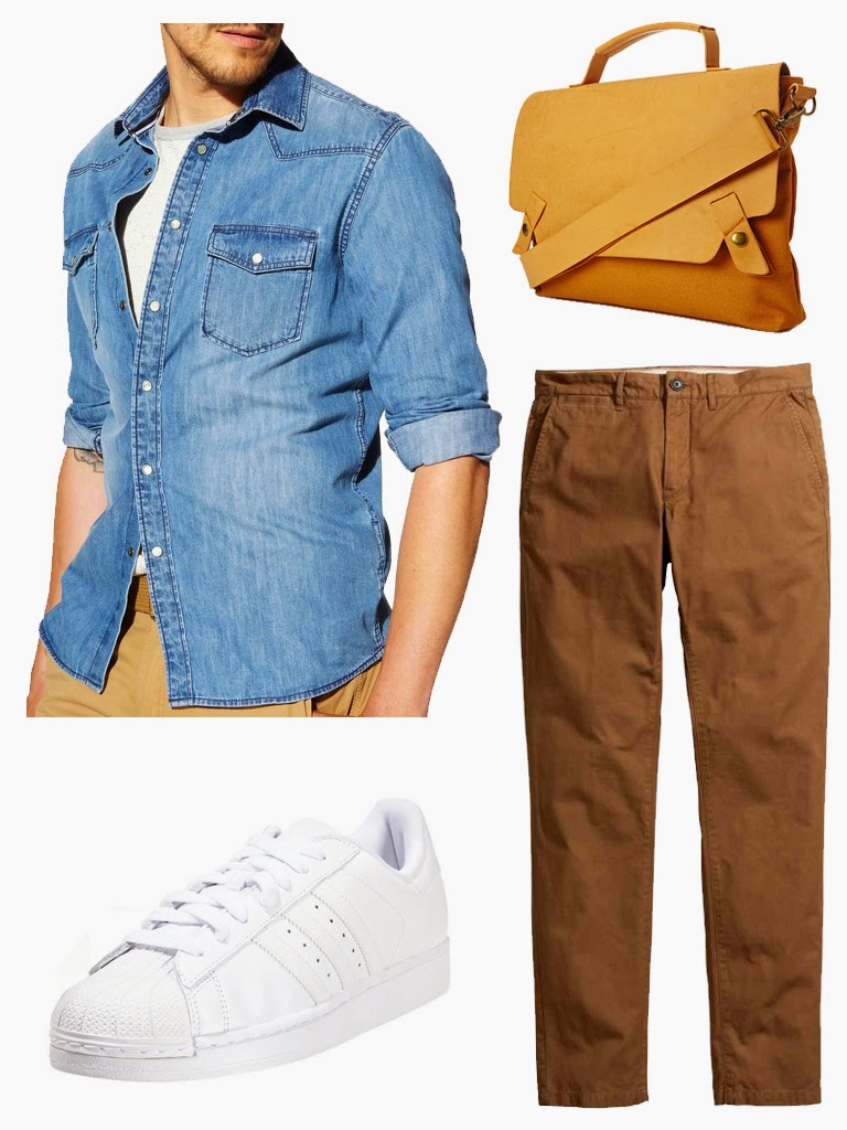 get the look david beckham denim shirt chemise jeans