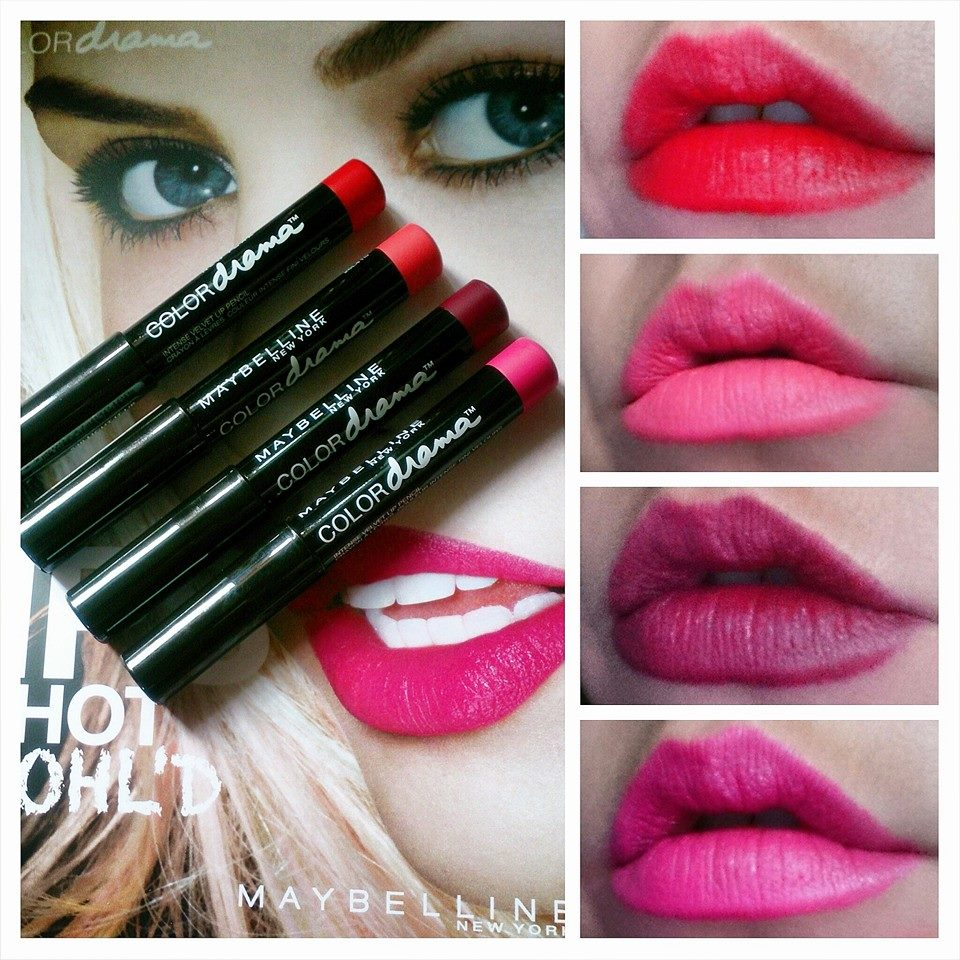Maybelline Color Drama Intense Velvet Lip Pencils