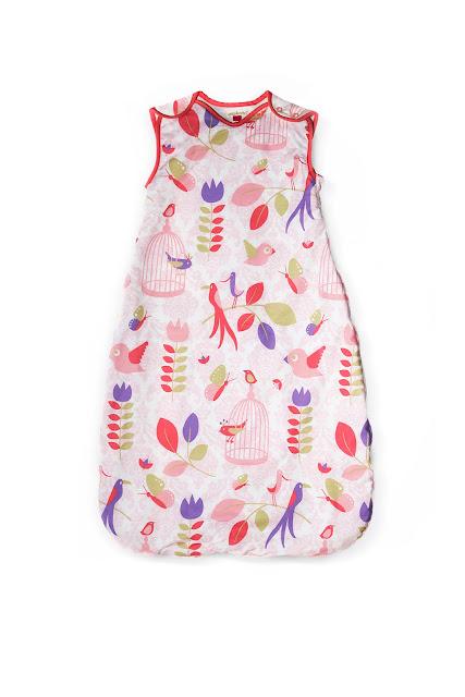Ella & Otto   Nursery Bedding   Baby Sleeping Bag   Tweet Tweet Design Baby Sleeping Bag