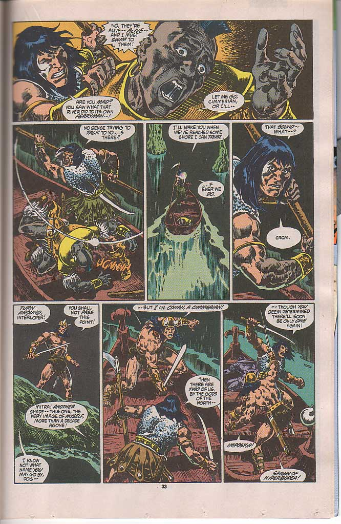 Conan the Barbarian (1970) Issue #250 #262 - English 27