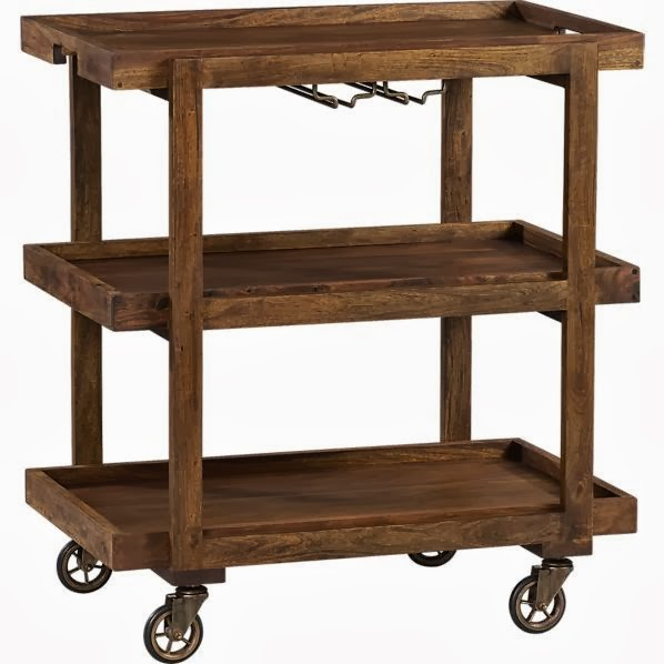 Seems That There Is Certainly A Style To Go With Any Decor! They Can Be  Used As A Side Table Or Easily Wheeled Out To A Patio Or Deck With Picnic  Supplies ...