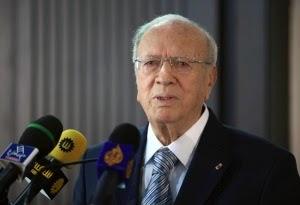 Le président de la République, Béji Caïd Essebsi