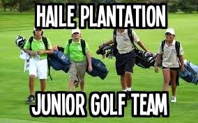 Join the Haile Junior Golf Team Today!
