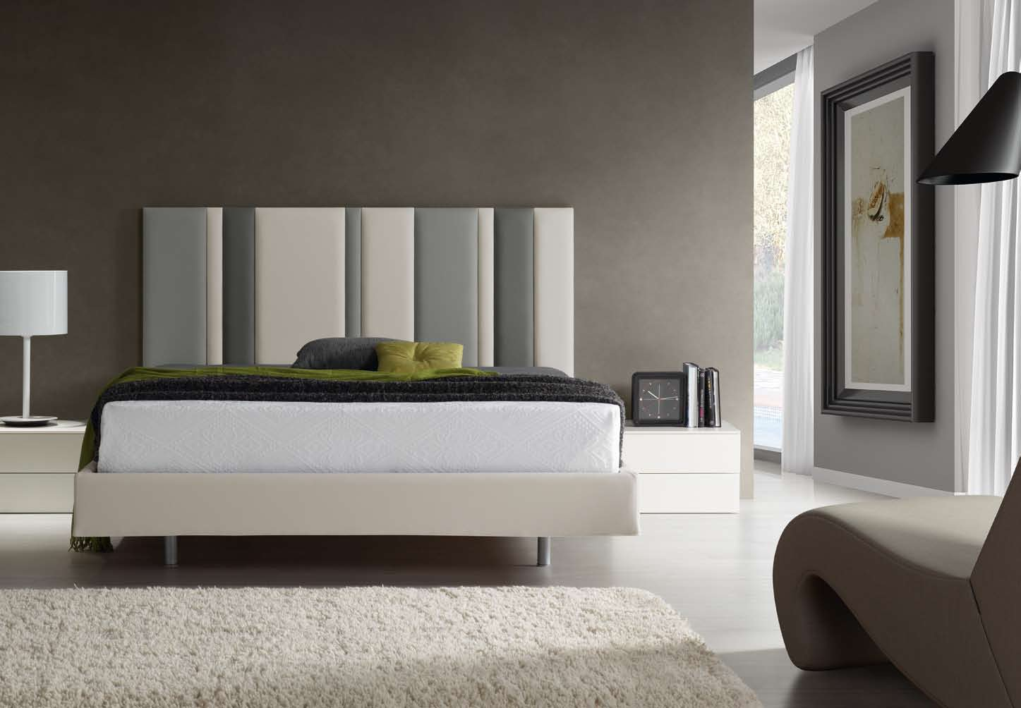 Cabeceros modernos de cama - Cabeceros cama tela ...
