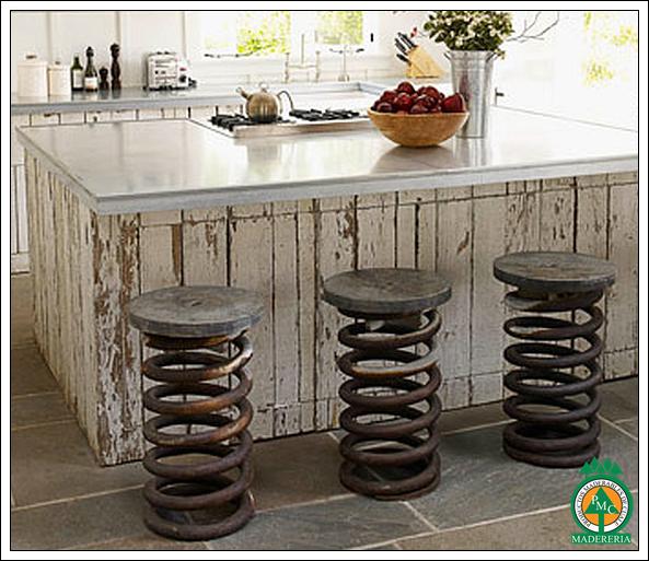 Productos maderables de cuale ideas de remodelaci n para barras de cocina - Reciclar marmol ...