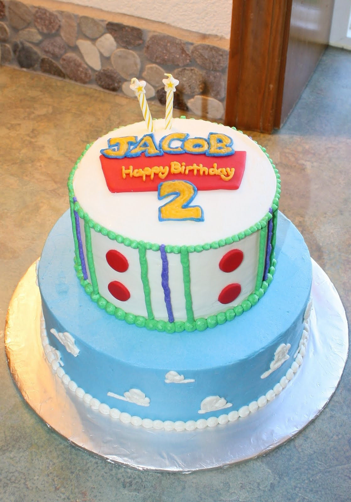 Party Cakes Toy Story Cake for Jacob