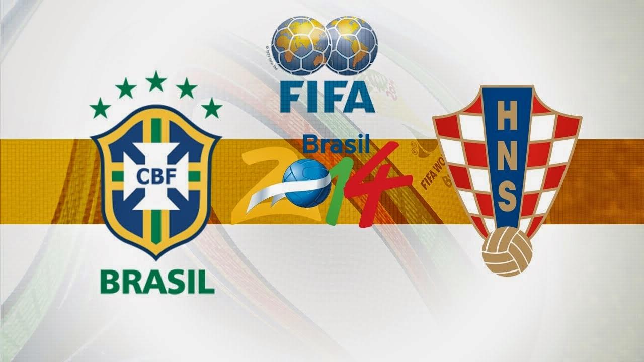FIFA World cup 2014 opening match Brazil v. Croatia
