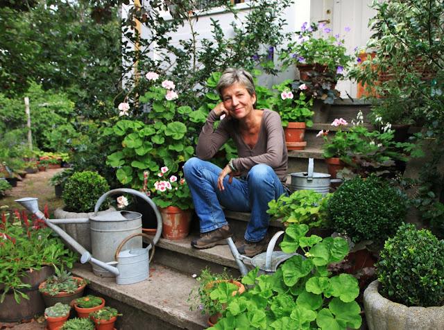 trädgårdsdesigner inspiration trappa entre