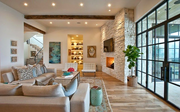 Интерьер дизайн домов 173
