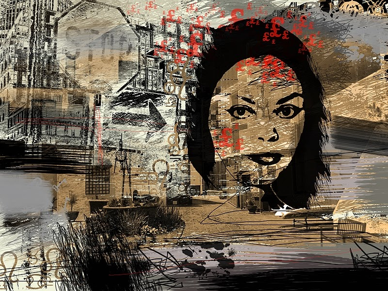 Digital art painting - Urban Alchemy on Saatchi Art