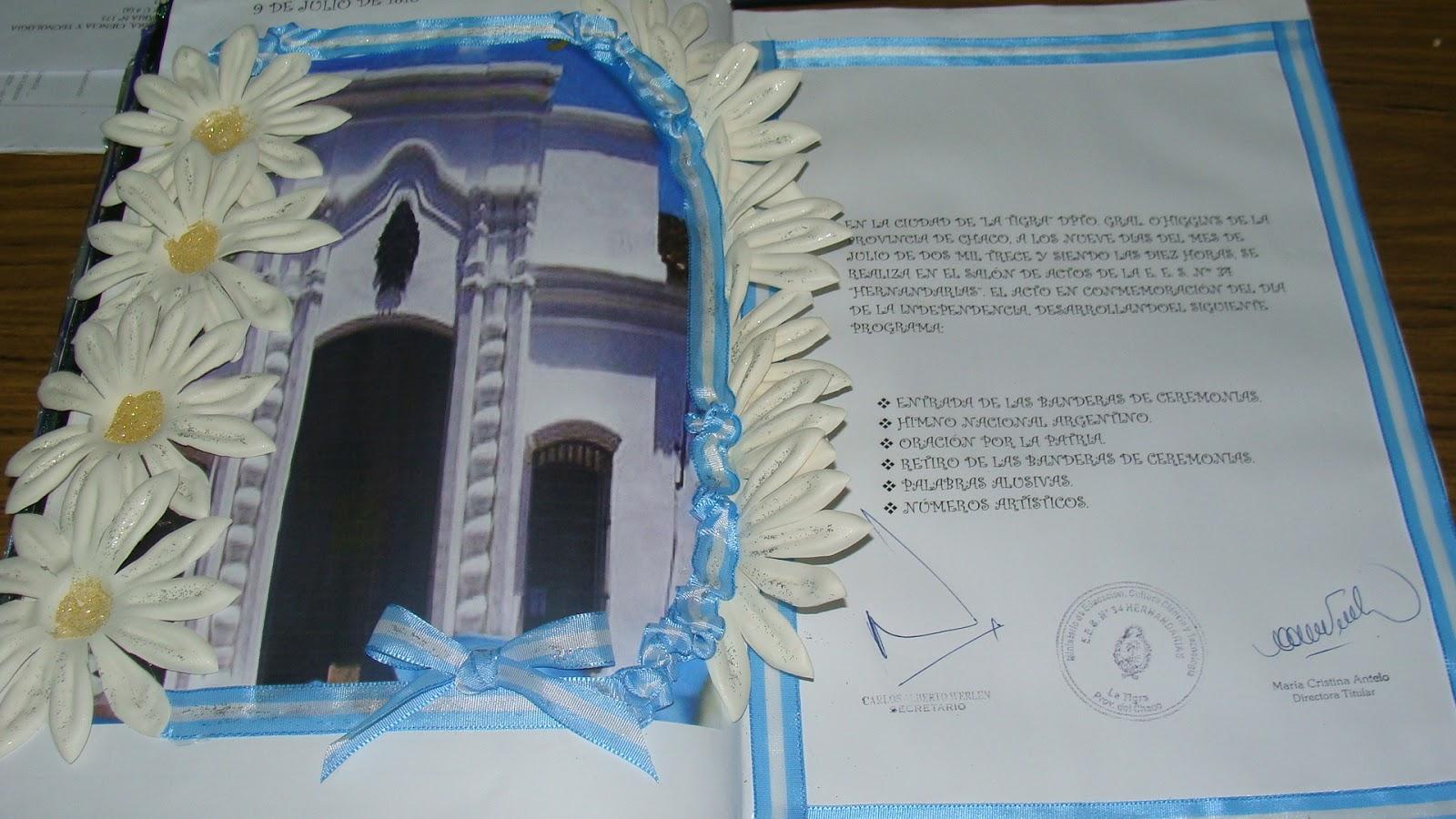Escuela de educaci n secundaria n 34 hernandarias for Decoracion 9 de julio secundaria