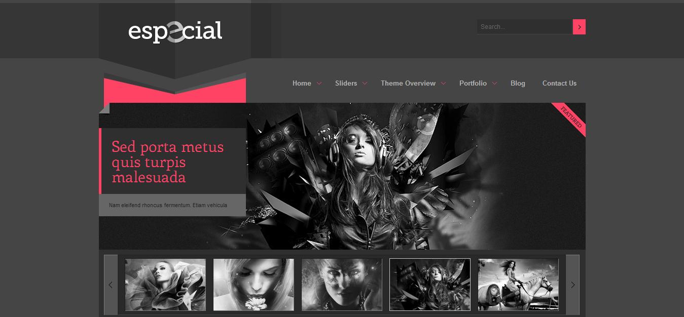 eSpecial Blogger Template | Cool Blog Templates | Premium Blogger ...