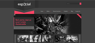 eSpecial Blogger Template Is a Wp To Blogger Converted Template