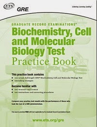 GRE - Biochemistry-Cell-Molecular-Biology Test Practice Book