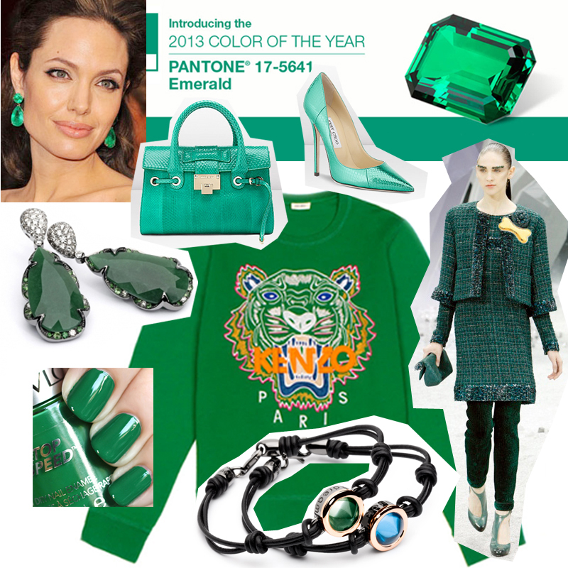 Emerald - Trend Color of 2013