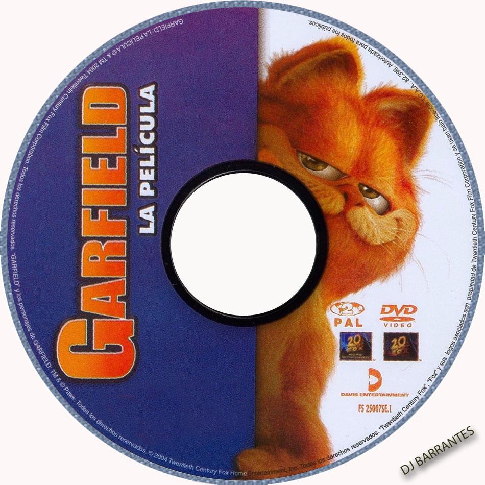 video pelicula garfield: