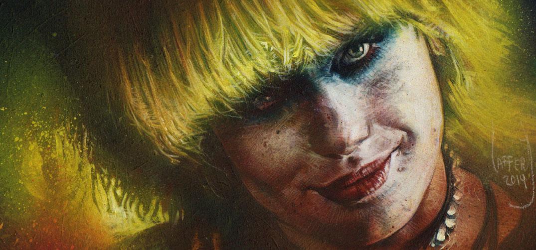 Daryl Hanna as Pris, Original Painting by Jeff Lafferty