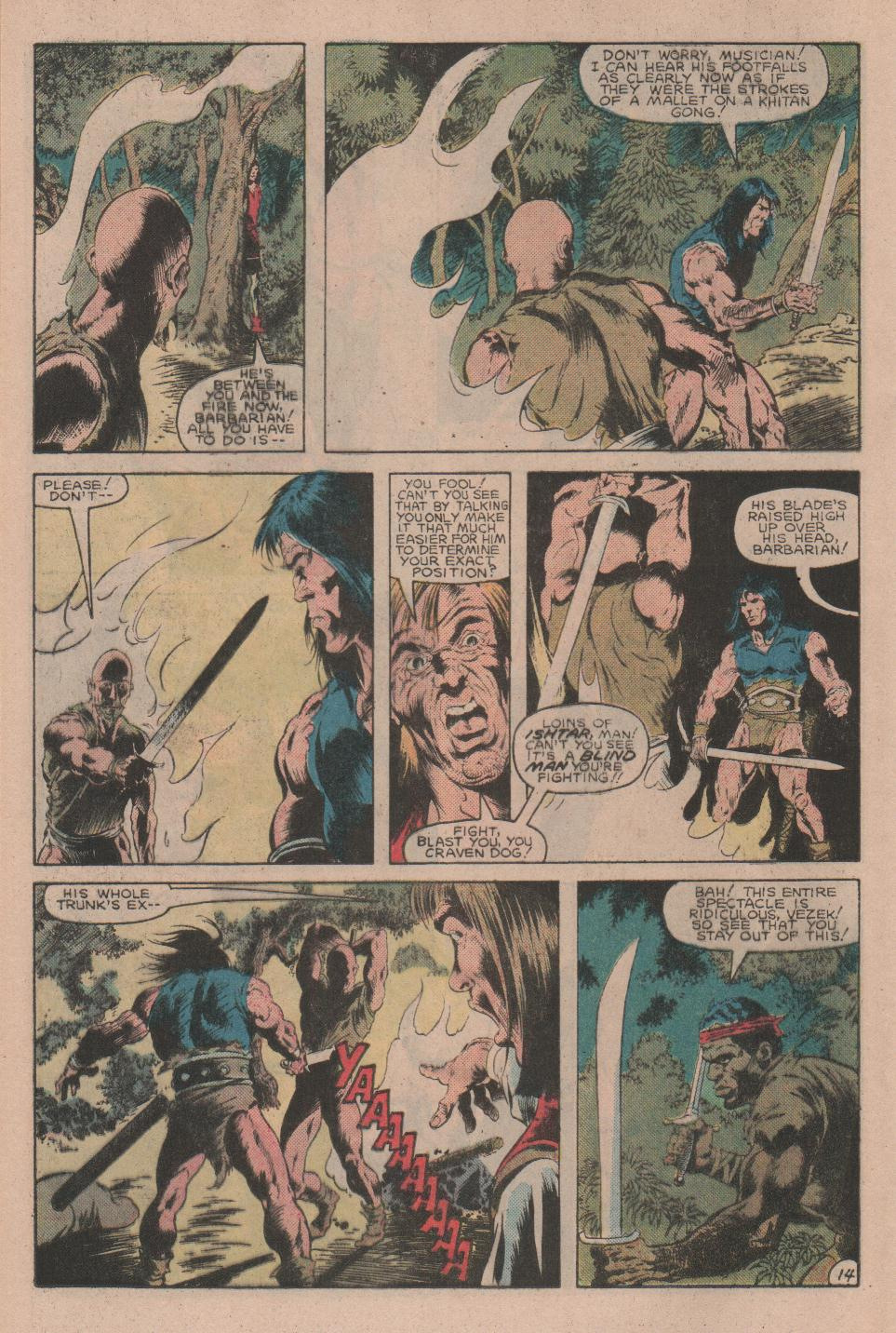 Conan the Barbarian (1970) Issue #160 #172 - English 15
