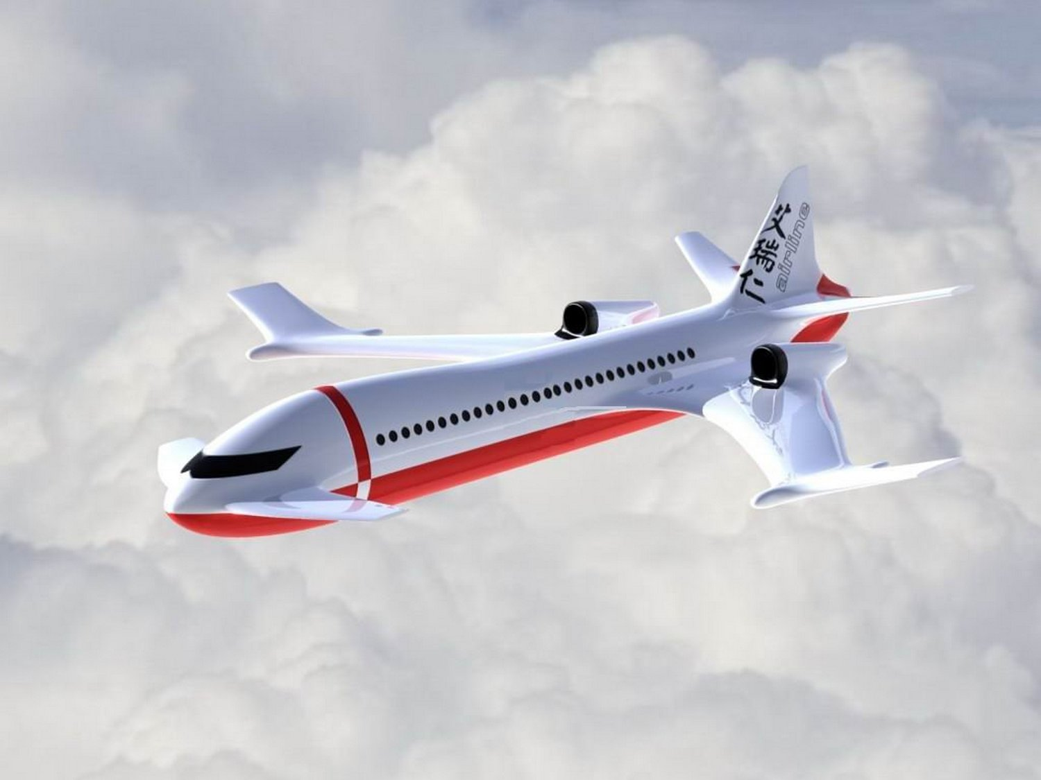 NASA Concept Plane - Pics about space