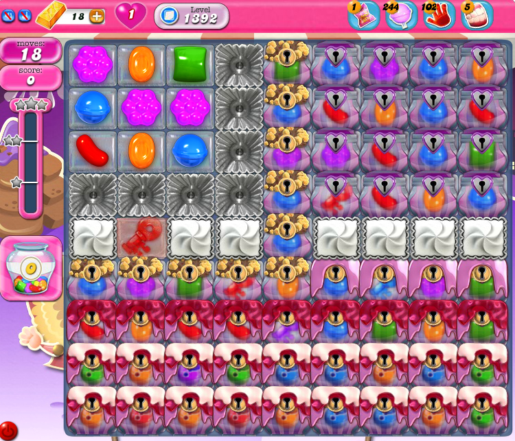Candy Crush Saga 1392