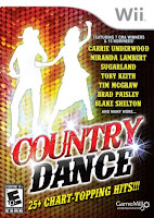 Country Dance, Wii, video, game, screen
