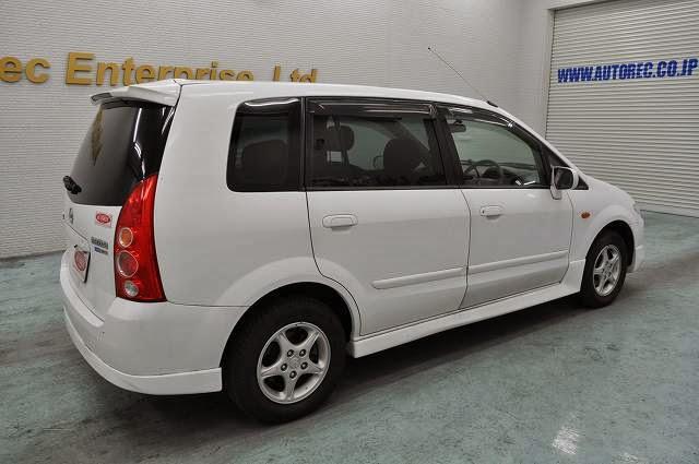 2002 Mazda Premacy - Japanese vehicles