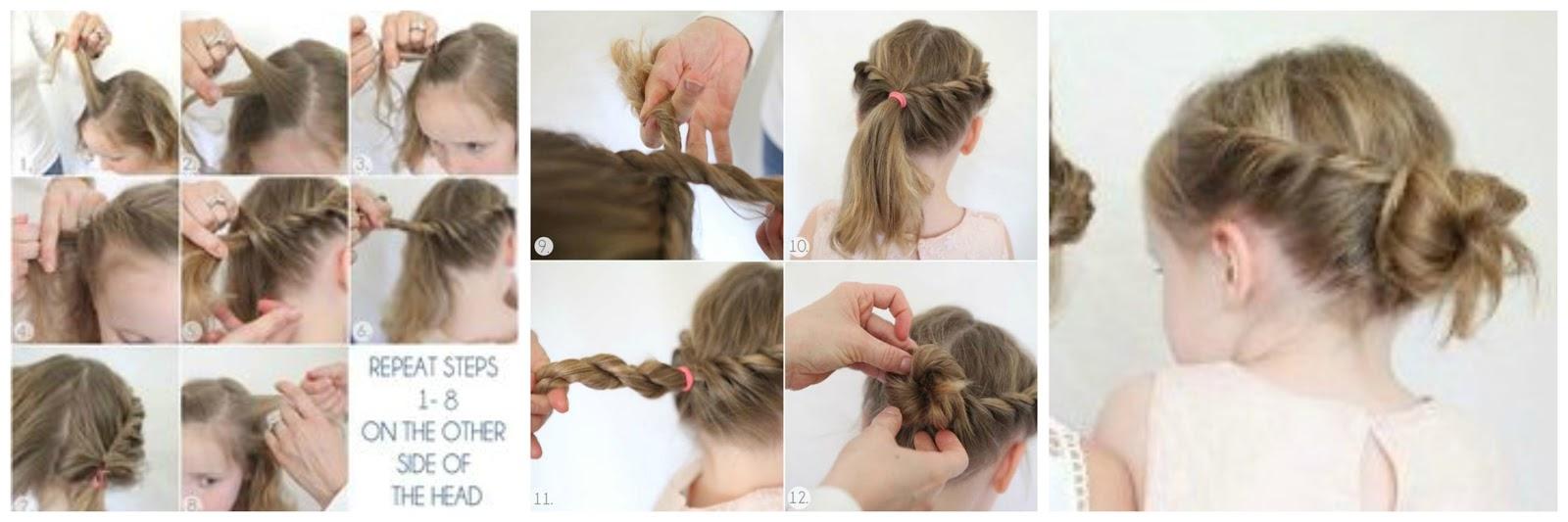 Peinados para niñas fáciles rapidos y bonitos Mujeres Femeninas - Peinados Para Niñas Com Paso Paso Gratis