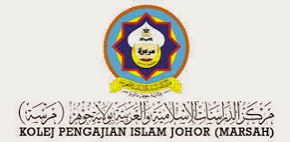 Jawatan Kosong Kolej Pengajian Islam Johor Marsah 29 November 2013 Appjawatan Malaysia