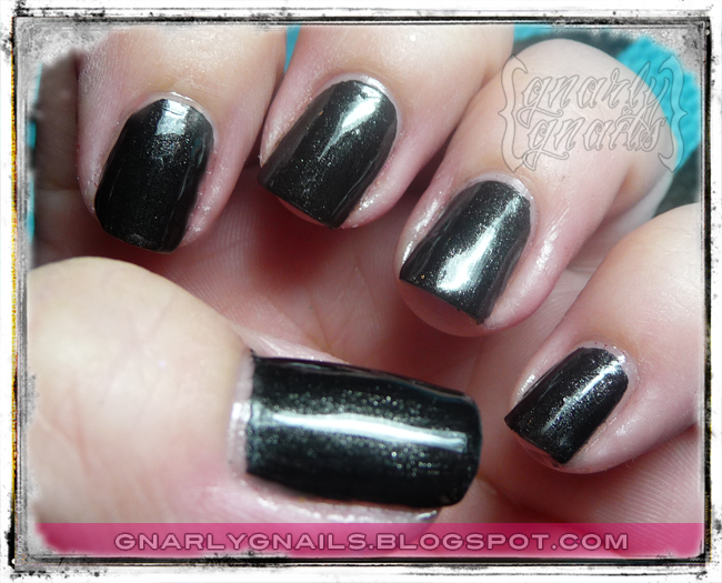 Swatches - Kleancolor Metallics - Gnarly Gnails