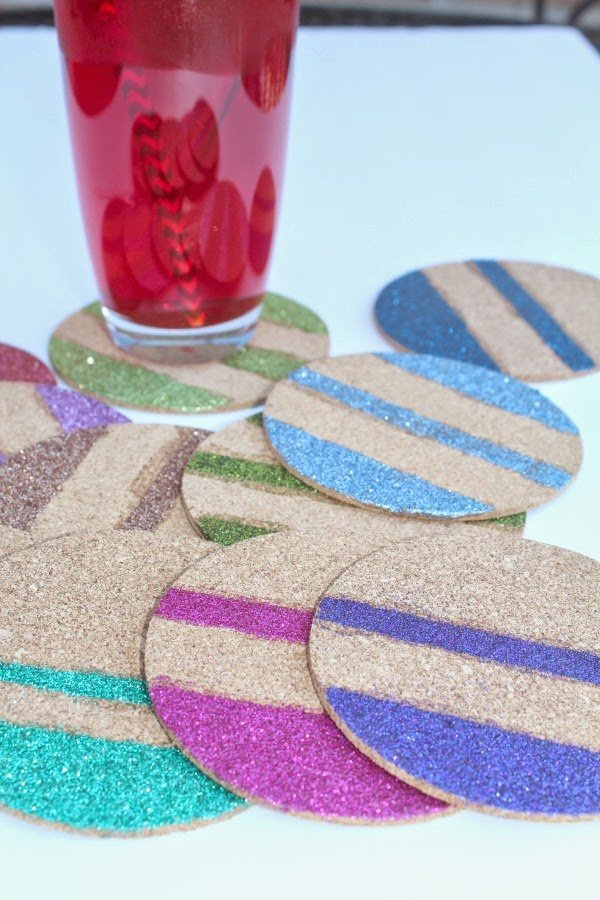 Cork Board Coasters Craft