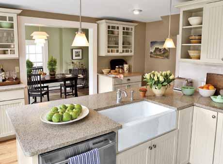 Desain Lampu Ruang Dapur Untuk Pencahayaan Dapur