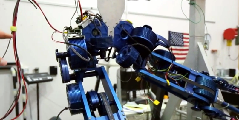 Researchers Working To Make Biped Robots Much More Efficient